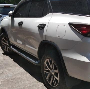 Pearl White Toyota Fortuner 2016 for sale in Valenzuela-7