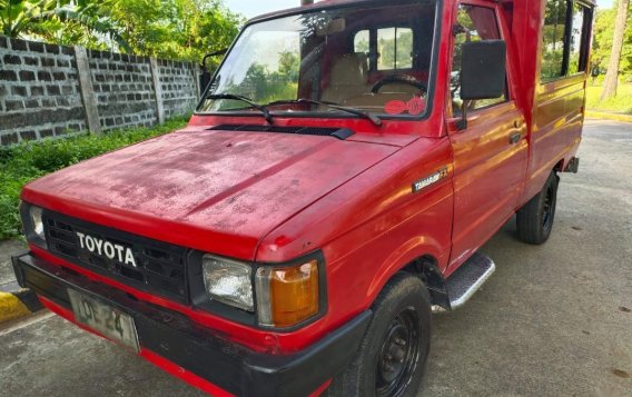 Red Toyota tamaraw for sale in Pasig-1