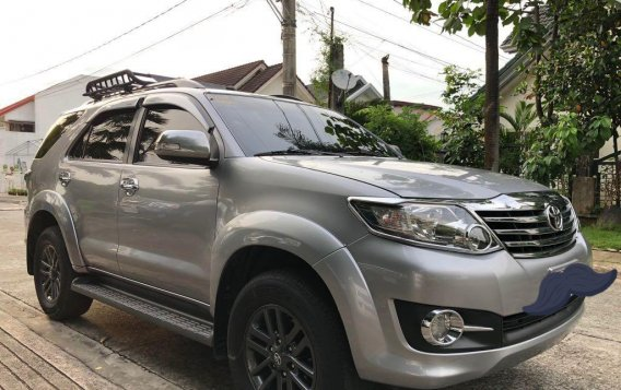 Silver Toyota Fortuner for sale in Cainta-2