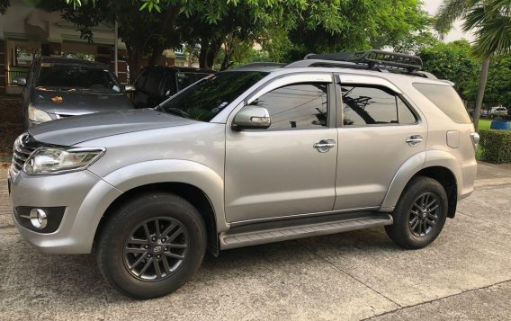 Silver Toyota Fortuner for sale in Cainta-3