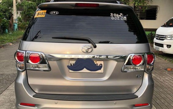 Silver Toyota Fortuner for sale in Cainta-1