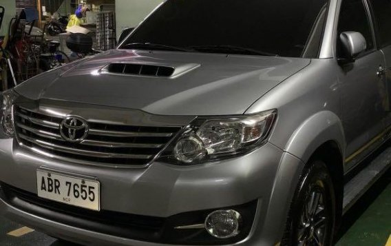 Silver Toyota Fortuner 2016 for sale in Manila-1