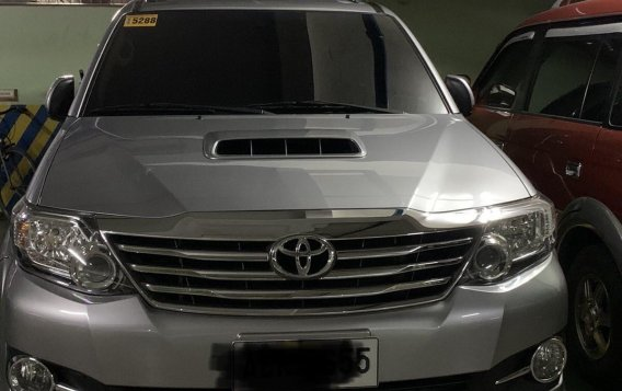 Sell Grey 2016 Toyota Fortuner in Manila-2