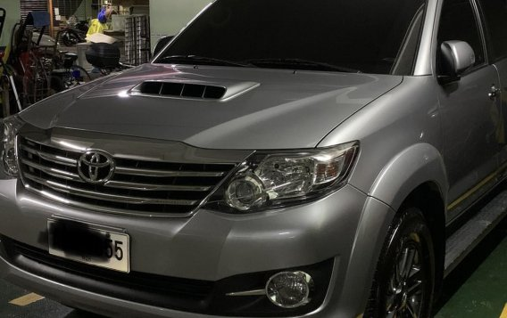 Sell Grey 2016 Toyota Fortuner in Manila-1