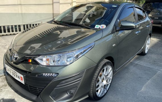 Selling Silver Toyota Vios 2020 in Quezon City