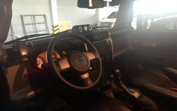 Black Toyota FJ Cruiser 2015 for sale in Manila-3