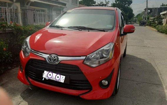 Sell Red 2018 Toyota Wigo in Tuguegarao-3