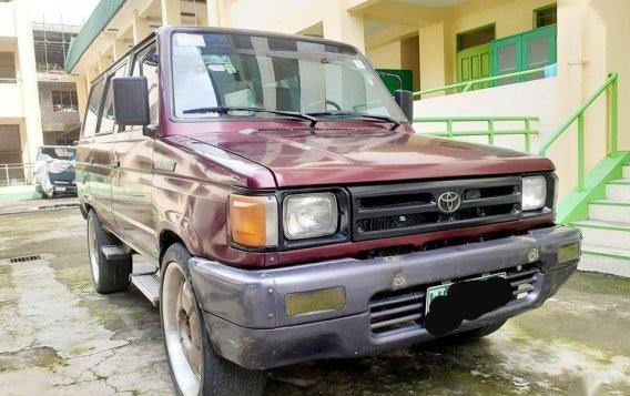 Sell Red 2000 Toyota Tamaraw in Manila-2