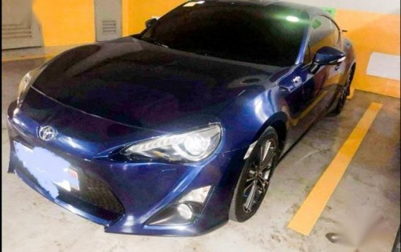 Sell Blue Toyota 86 2013 in Manila-5