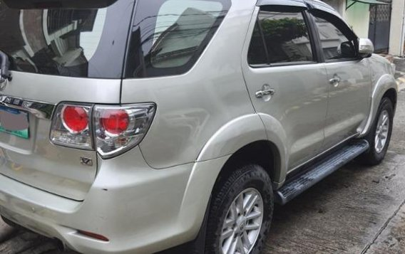 Sell Silver 2014 Toyota Fortuner in Parañaque-3