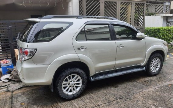 Sell Silver 2014 Toyota Fortuner in Parañaque