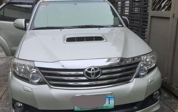 Sell Silver 2014 Toyota Fortuner in Parañaque-1