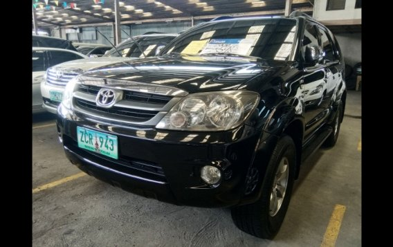 Sell Black 2006 Toyota Fortuner SUV in Manila-4