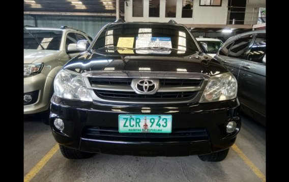 Sell Black 2006 Toyota Fortuner SUV in Manila