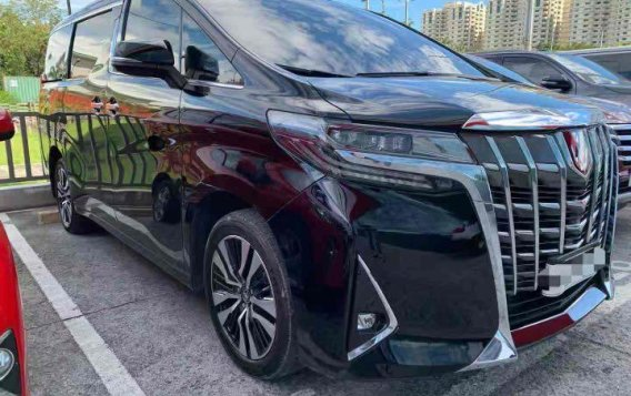 Black Toyota Alphard 2019 for sale in Manila