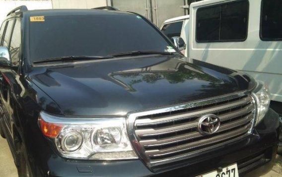Selling Black Toyota Land Cruiser 2015 in Caloocan-2