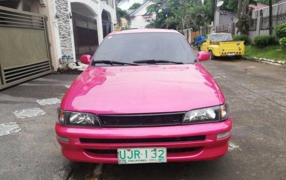 Selling Pink Toyota Corolla GLI 1996 in Rizal