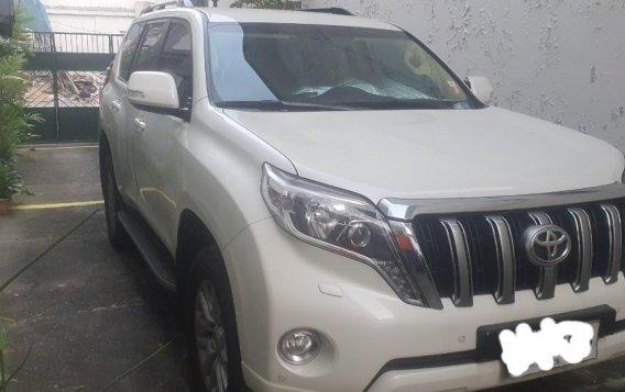 Selling Pearlwhite Toyota Land Cruiser Prado 2015 in Angeles-1