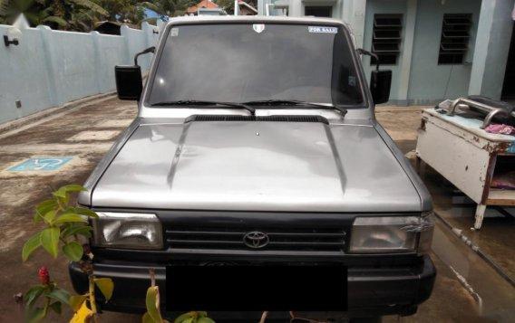 Selling Brightsilver Toyota Tamaraw 1996 in Ipil-9