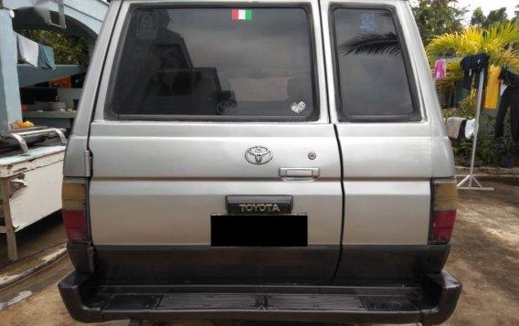 Selling Brightsilver Toyota Tamaraw 1996 in Ipil-4
