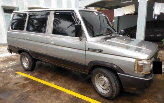 Selling Brightsilver Toyota Tamaraw 1996 in Ipil-1