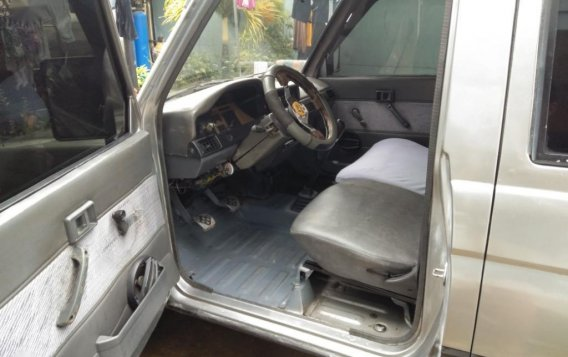 Selling Brightsilver Toyota Tamaraw 1996 in Ipil-6