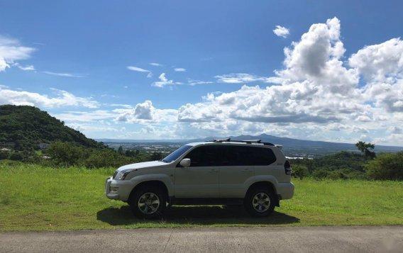 White Toyota Land Cruiser Prado 2008 for sale in Las Pinas-3