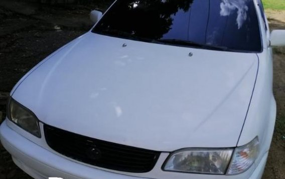 White Toyota Corolla 1999 for sale in Pinamungajan-1