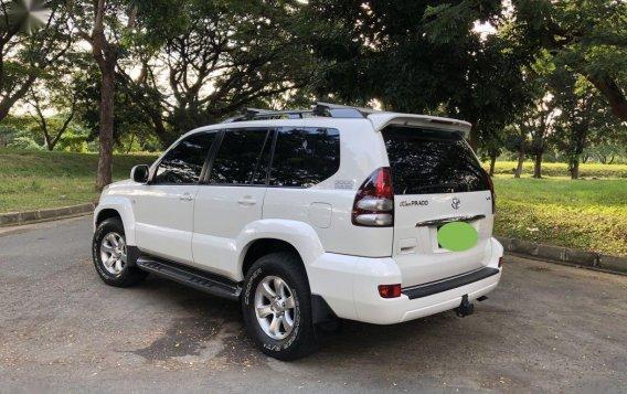 White Toyota Land Cruiser Prado 2008 for sale in Las Pinas-1