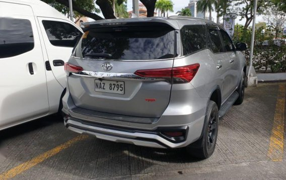 Silver Toyota Fortuner 2017 for sale in Parañaque-2