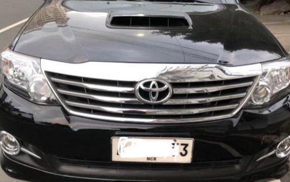 Black Toyota Fortuner 2.7 2015 for sale in Manila
