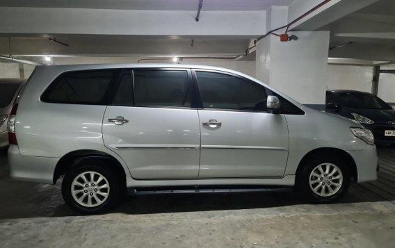 Brightsilver Toyota Innova 2016 for sale in Mandaluyong-2