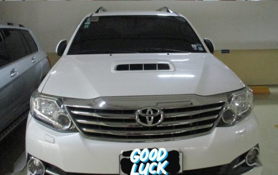 White Toyota Fortuner 2016 for sale in Makati