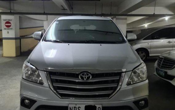 Brightsilver Toyota Innova 2016 for sale in Mandaluyong