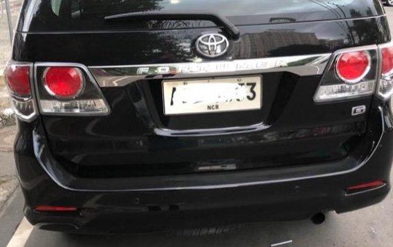 Black Toyota Fortuner 2.7 2015 for sale in Manila-8
