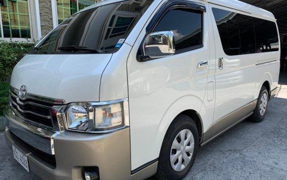 Selling Pearlwhite Toyota Hiace Super Grandia 2018 in Quezon-3