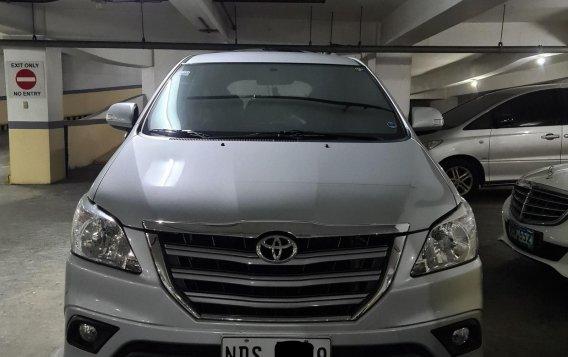 Selling Pearlwhite Toyota Innova 2016 in Mandaluyong