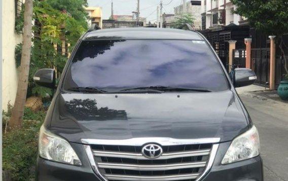 Grayblack Toyota Innova 2016 for sale in Las Piñas-1