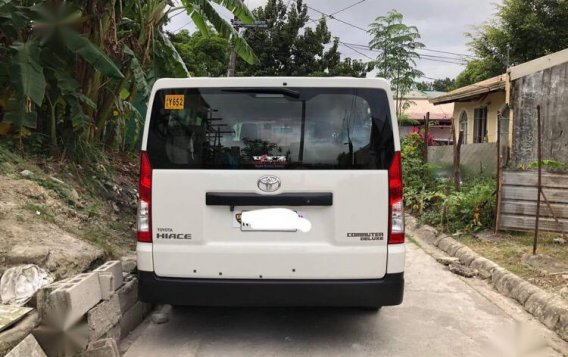 Selling White Toyota Hiace 2017 in Quezon-3