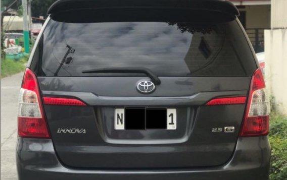 Grayblack Toyota Innova 2016 for sale in Las Piñas-3