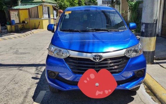 Selling Blue Toyota Avanza 2019 in Muntinlupa
