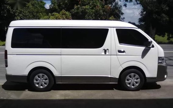 White Toyota Grandia 2015 for sale in Bulakan-3