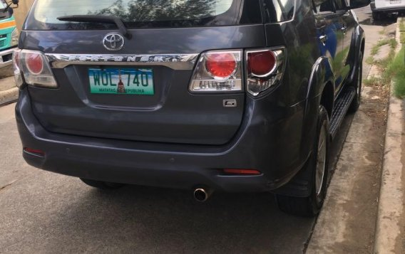 Grey Toyota Fortuner 2014 for sale in Pasig-2
