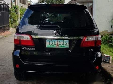 Black Toyota Fortuner 2011 for sale in Pasig-3