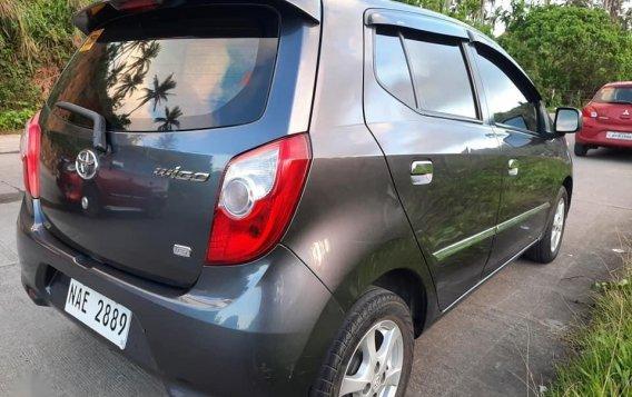 Selling Grey Toyota Wigo 2017 in San Fernando-1