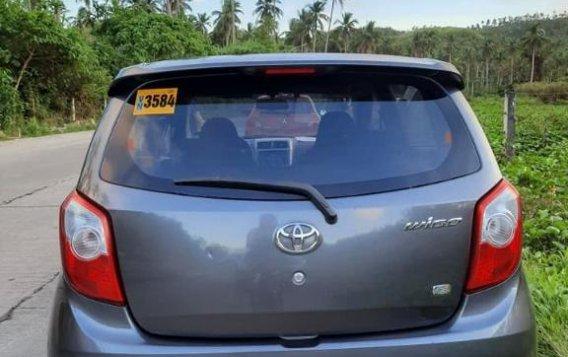 Selling Grey Toyota Wigo 2017 in San Fernando-5