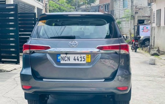 Silver Toyota Fortuner 2017 for sale in Manila-8