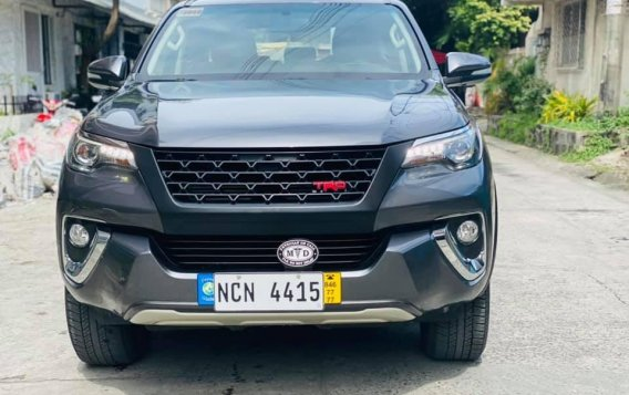 Silver Toyota Fortuner 2017 for sale in Manila