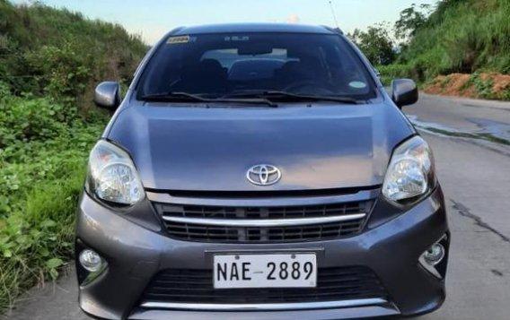 Selling Grey Toyota Wigo 2017 in San Fernando