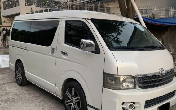 Pearl White Toyota Hiace Super Grandia -3